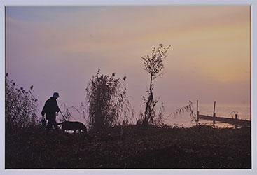 第52回滋賀県写真展覧会特選「朝の散歩道」 吉田 信介