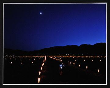 第52回滋賀県写真展覧会特選「月と交信」 西村 久