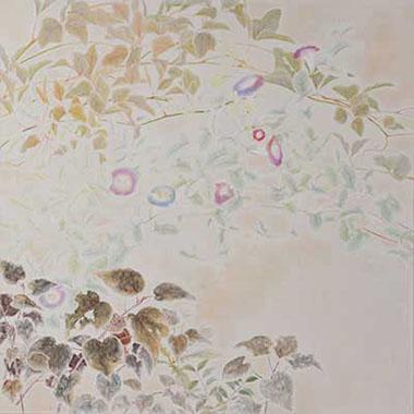 第67回滋賀県美術展覧会(平面の部)芸術文化祭賞「泡沫」