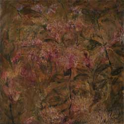 第67回滋賀県美術展覧会(平面の部)特選「紫陽花」