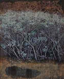 第67回滋賀県美術展覧会(平面の部)特選「そこにある」