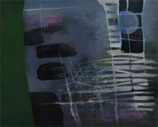 第67回滋賀県美術展覧会(平面の部)特選「鯉想,Ⅱ」