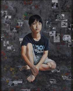 第67回滋賀県美術展覧会(平面の部)特選「『僕が行く道は・・・・』」