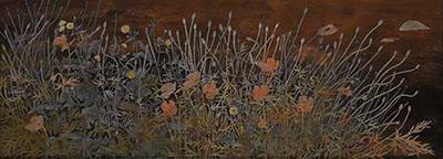 第67回滋賀県美術展覧会(平面の部)特選「行く春」