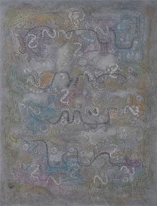 第67回滋賀県美術展覧会(平面の部)特選「異国にて」