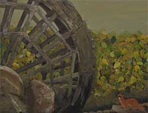 第67回滋賀県美術展覧会(平面の部)特選「里の望」