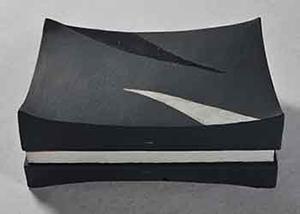第67回滋賀県美術展覧会(工芸の部)特選「波頭の器」