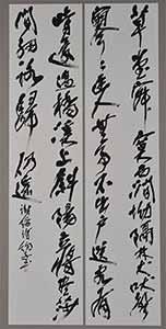第67回滋賀県美術展覧会(書の部)特選「謝縉詩」