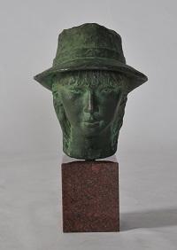 第68回滋賀県美術展覧会(立体の部)特選「帽子の女」