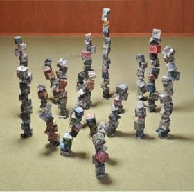 第68回滋賀県美術展覧会(立体の部)特選「かさねる かさなる」