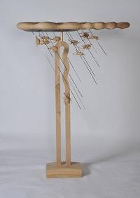 第68回滋賀県美術展覧会(立体の部)特選「黒い雨」