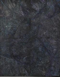 第68回滋賀県美術展覧会(平面の部)特選「幻想Ⅰ」