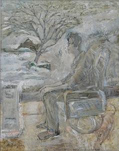 第68回滋賀県美術展覧会(平面の部)特選「休息」