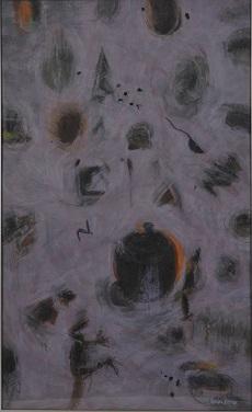 第68回滋賀県美術展覧会(平面の部)特選「幸せさがし」