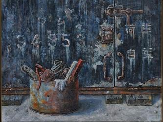 第68回滋賀県美術展覧会(平面の部)佳作「忘れられたもの」