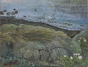 第68回滋賀県美術展覧会(平面の部)佳作「湖の想い」