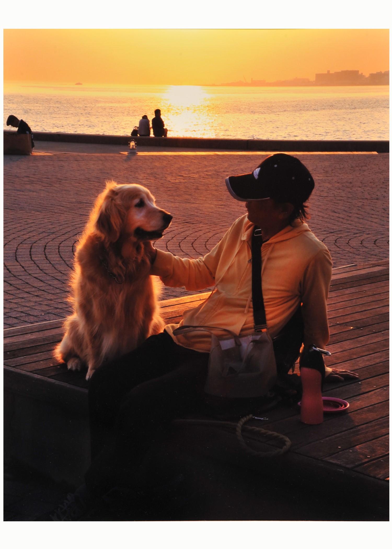 第54回特選 「愛犬と共に」 小梶 富士雄