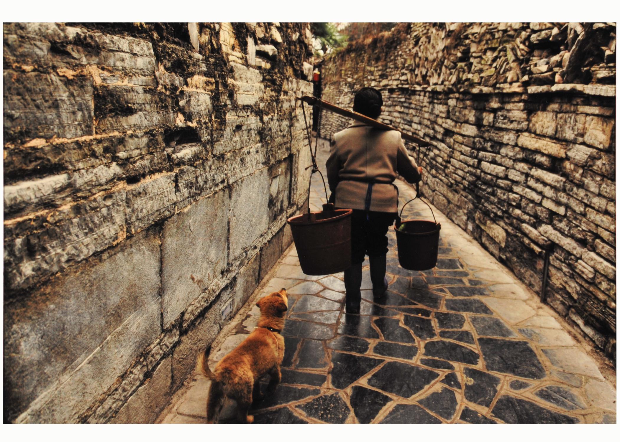 第54回滋賀県写真展覧会特選「古鎮に生きる」 新谷 教子