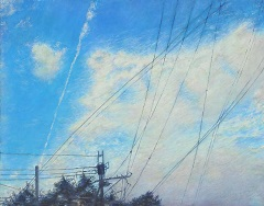 第69回滋賀県美術展覧会(平面の部)特選「未来」