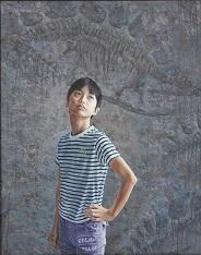 第69回滋賀県美術展覧会(平面の部)特選「存在の証明」