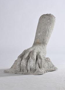 第69回滋賀県美術展覧会(立体の部)特選「かみのて-Ⅱ-」