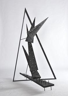 第69回滋賀県美術展覧会(立体の部)特選「鋭鋒-リズム」