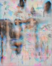 第69回滋賀県美術展覧会(平面の部)特選「雨はささやく」