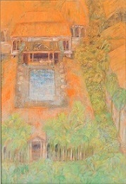 第69回滋賀県美術展覧会(平面の部)特選「常夏の記憶」