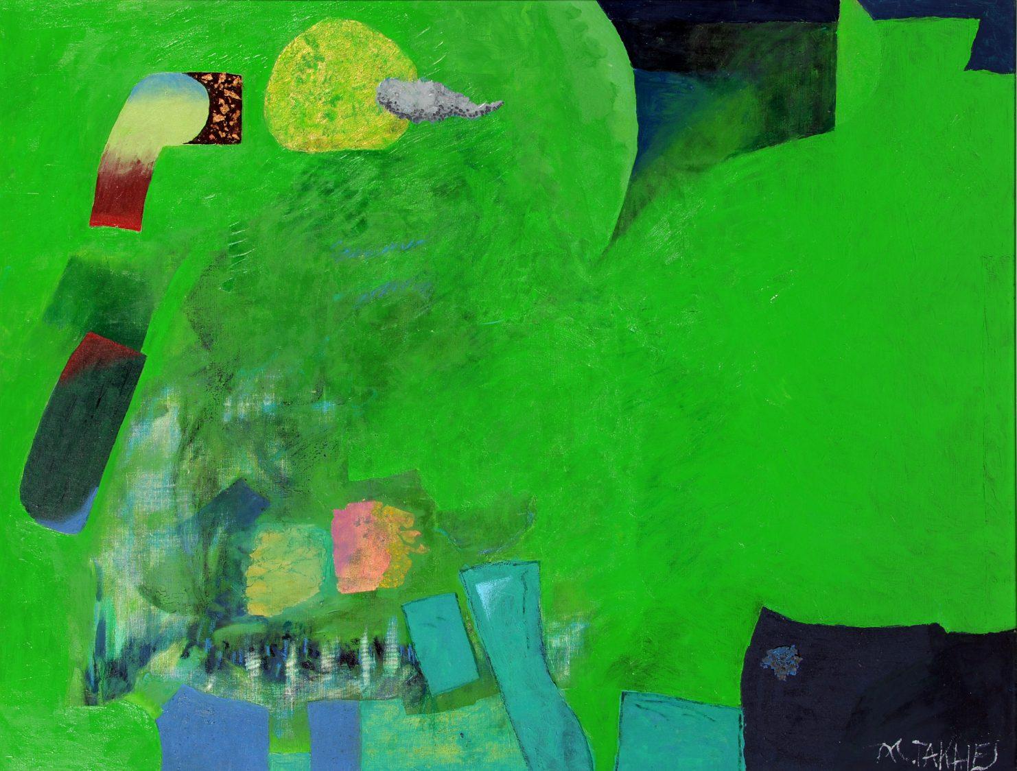 第70回滋賀県美術展覧会(平面の部)特選「'16幻想Ⅲ」
