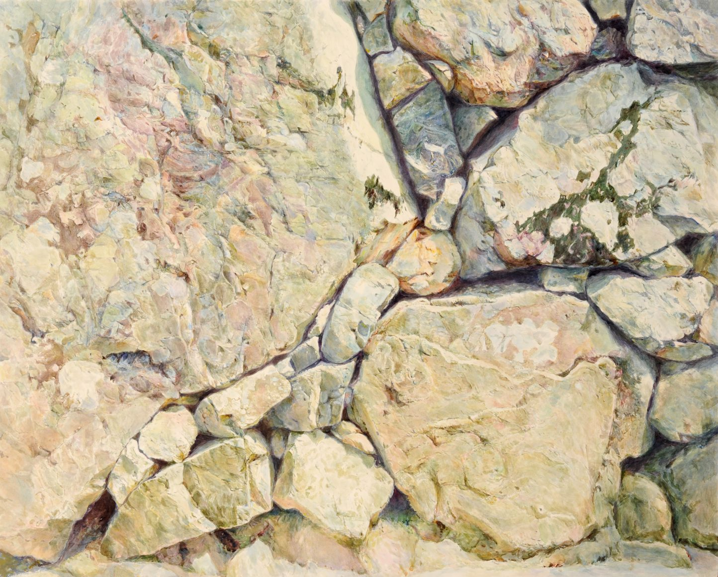 第70回滋賀県美術展覧会(平面の部)特選「バランス」