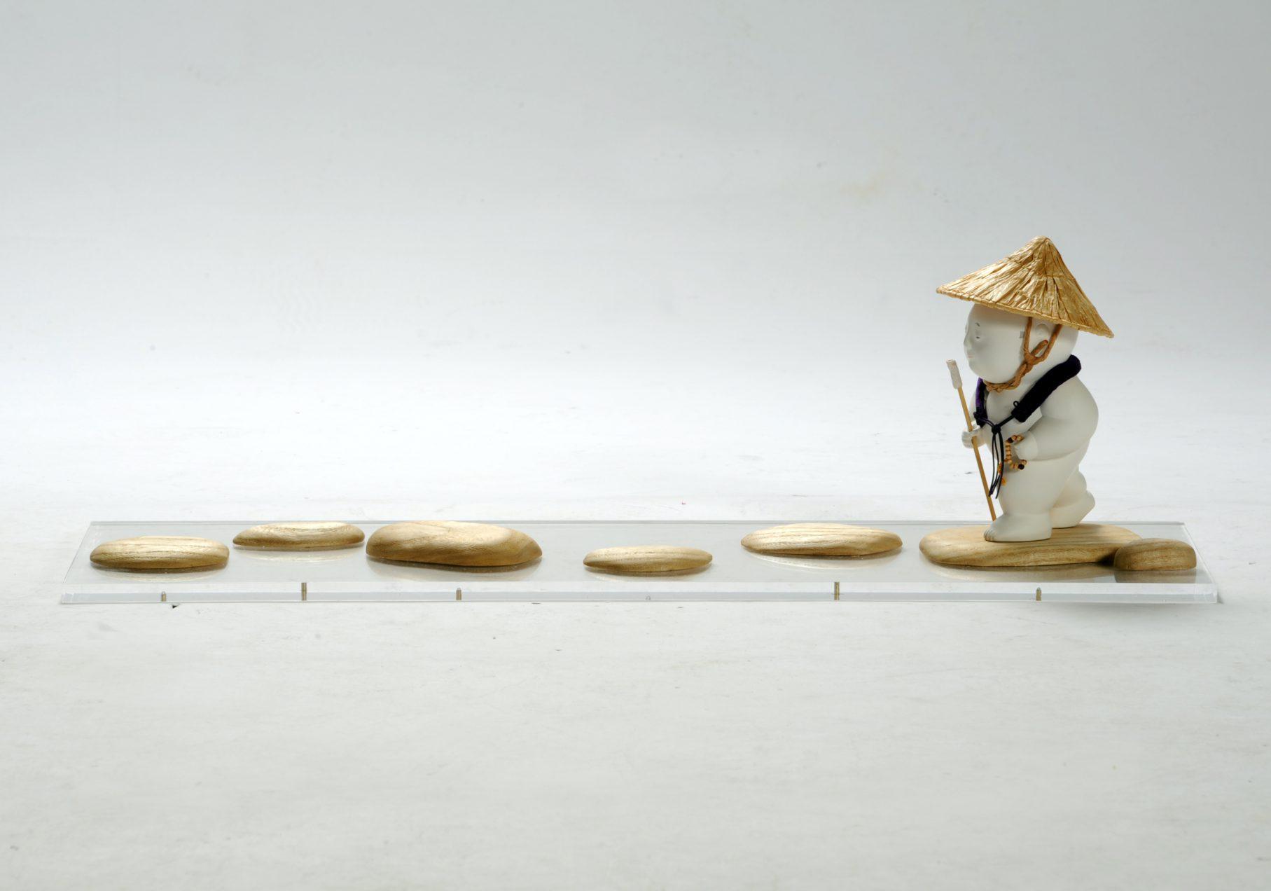 第70回滋賀県美術展覧会(工芸の部)特選「同行二人」