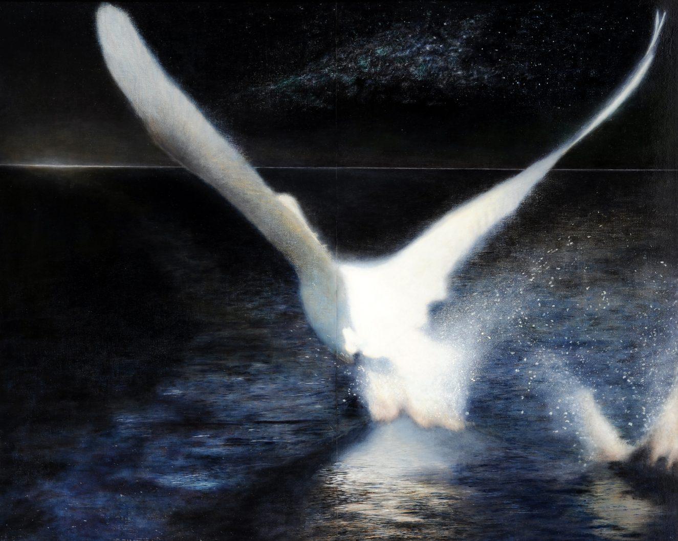 第70回滋賀県美術展覧会(平面の部)特選「光芒」
