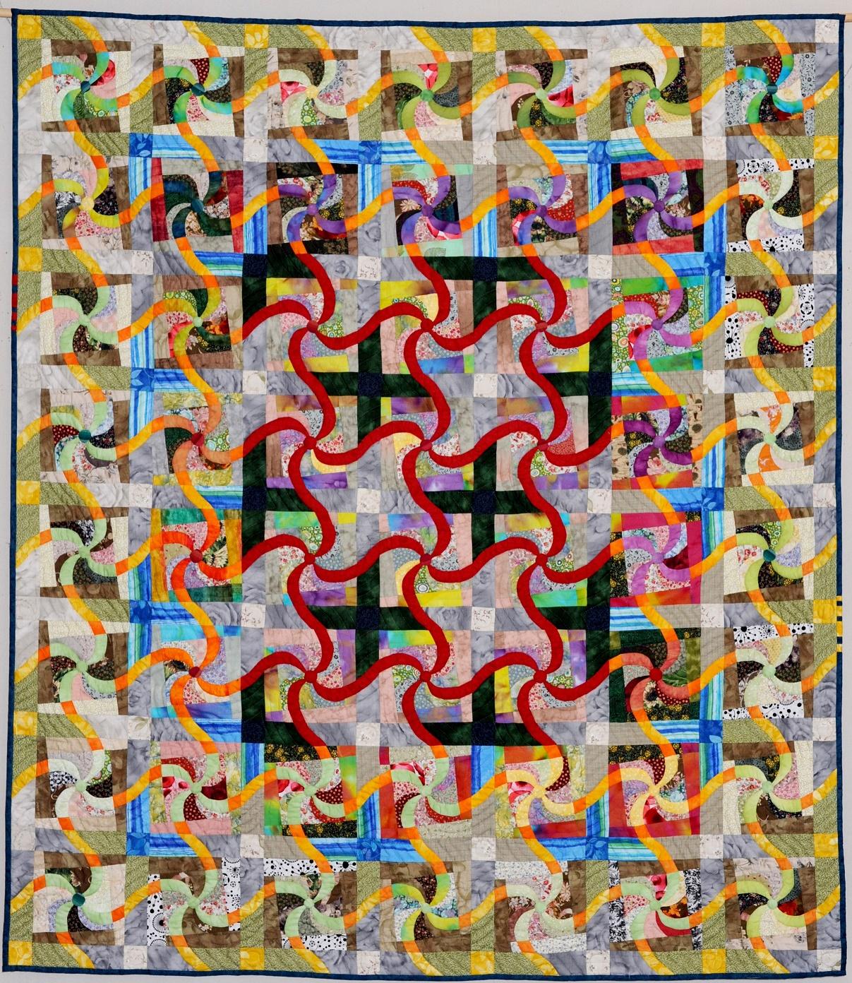 第70回滋賀県美術展覧会(工芸の部)佳作「未来へつなごう!」