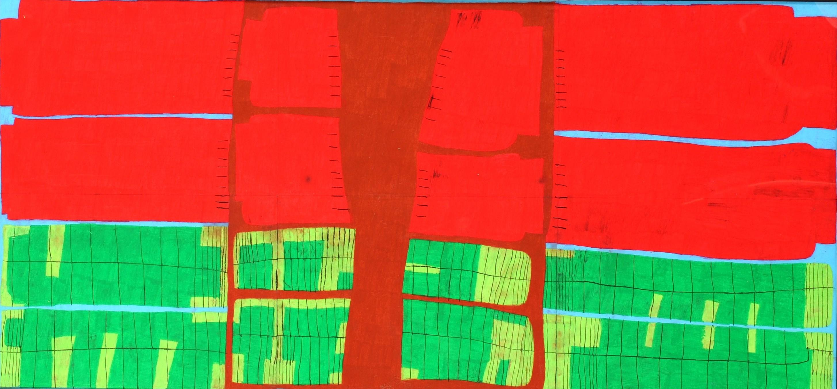 第70回滋賀県美術展覧会(平面の部)特選「ザクロ」