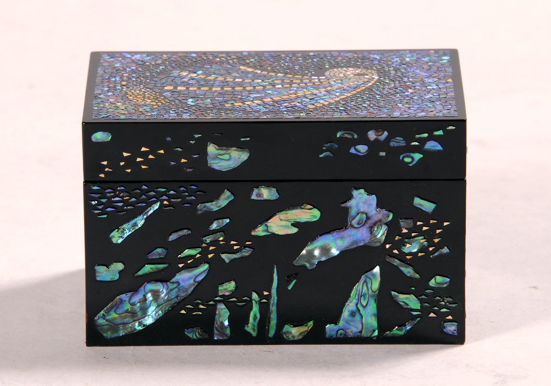 第70回滋賀県美術展覧会(工芸の部)佳作「夜空と海の夜」