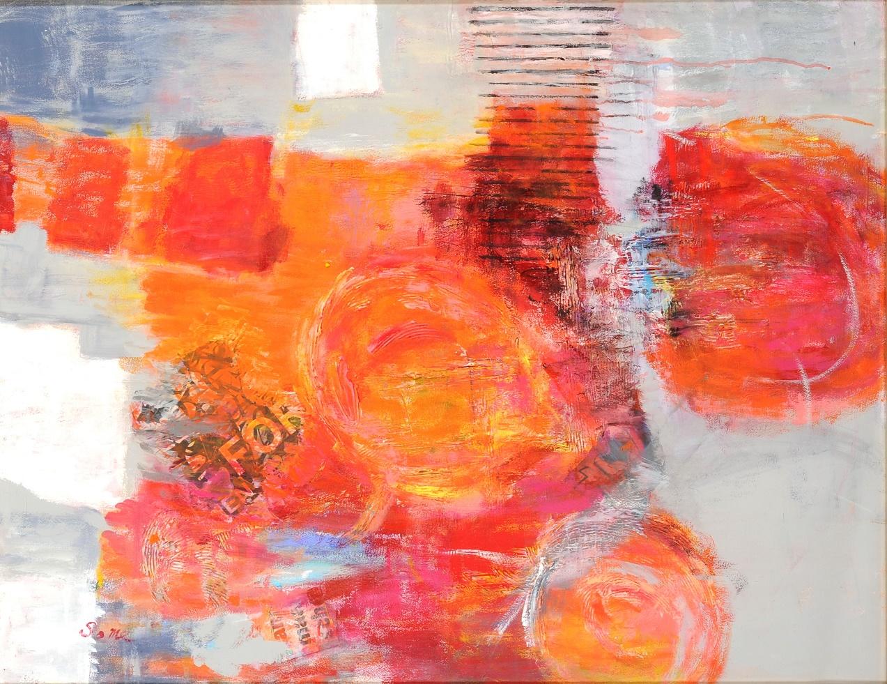 第70回滋賀県美術展覧会(平面の部)佳作「未知の誘い-Ⅰ」
