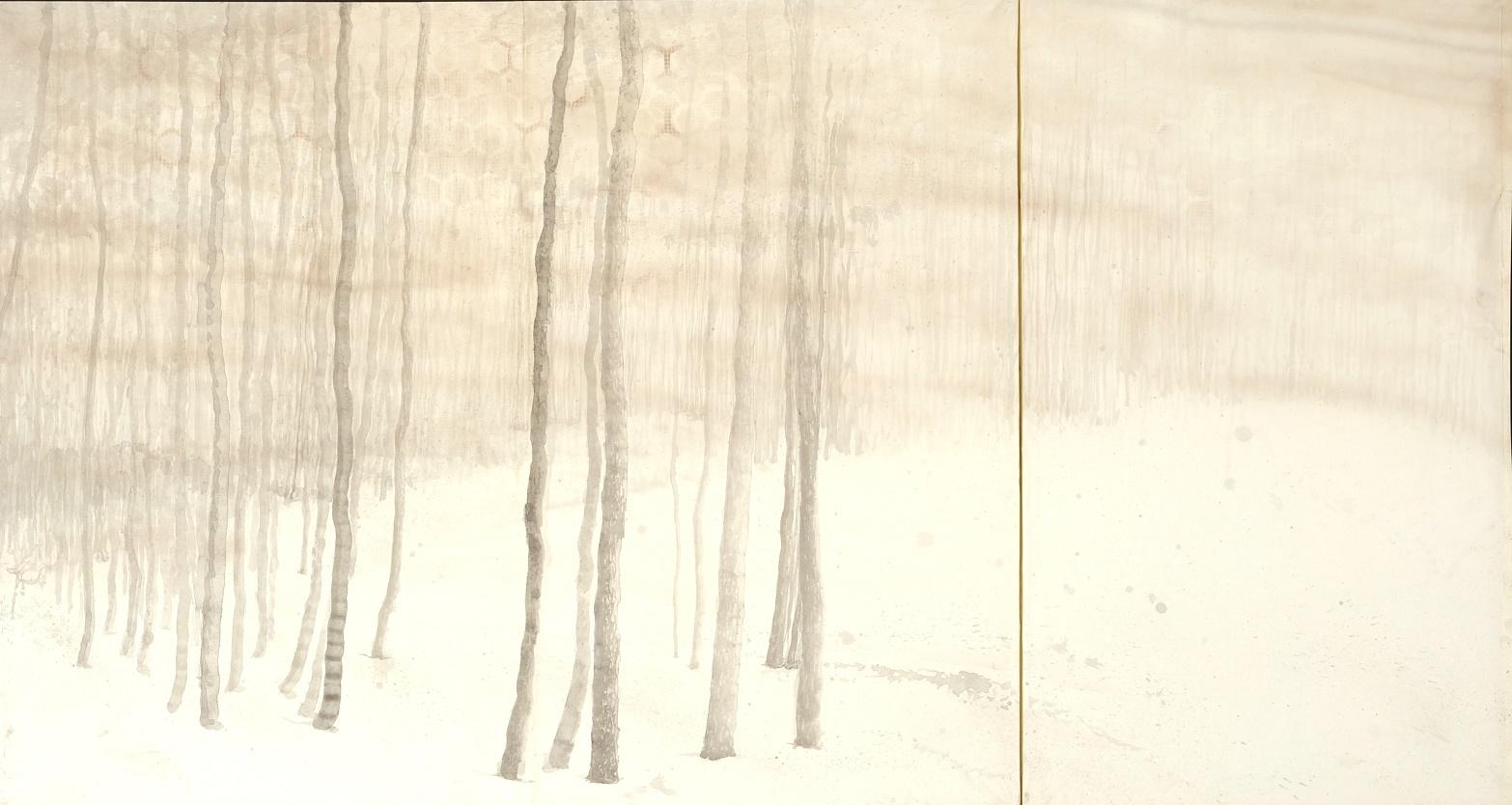 第70回滋賀県美術展覧会(平面の部)佳作「茂樹」