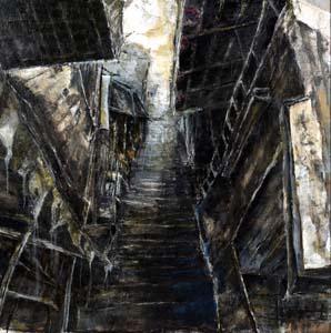 第71回滋賀県美術展覧会(平面の部)金賞「九份」