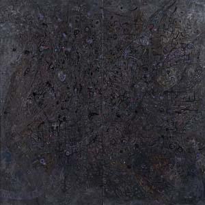 第71回滋賀県美術展覧会(平面の部)特選「黙」