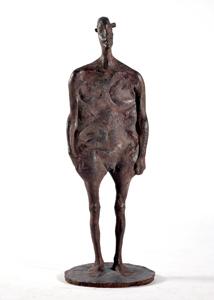 第71回滋賀県美術展覧会(立体の部)金賞「我思う」