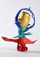 第71回滋賀県美術展覧会(立体の部)佳作「深界のプリマドンナ~しんかいのぷりまどんな~」