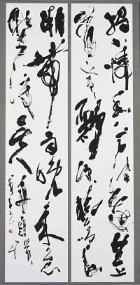 第72回滋賀県美術展覧会(書の部)特選「滁州の西の澗」