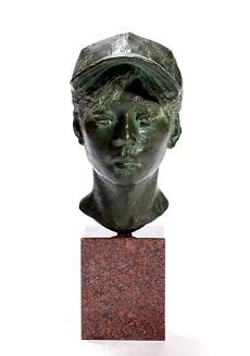 第73回滋賀県美術展覧会(立体の部)特選「帽子-夏-」