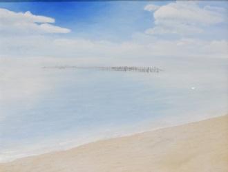 第73回滋賀県美術展覧会(平面の部)特選「残景」