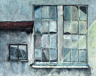 第73回滋賀県美術展覧会(平面の部)特選「追憶」