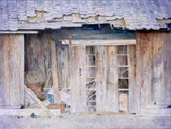 第73回滋賀県美術展覧会(平面の部)特選「朽ちゆく」